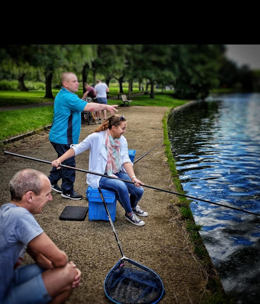 Beginner fishing event