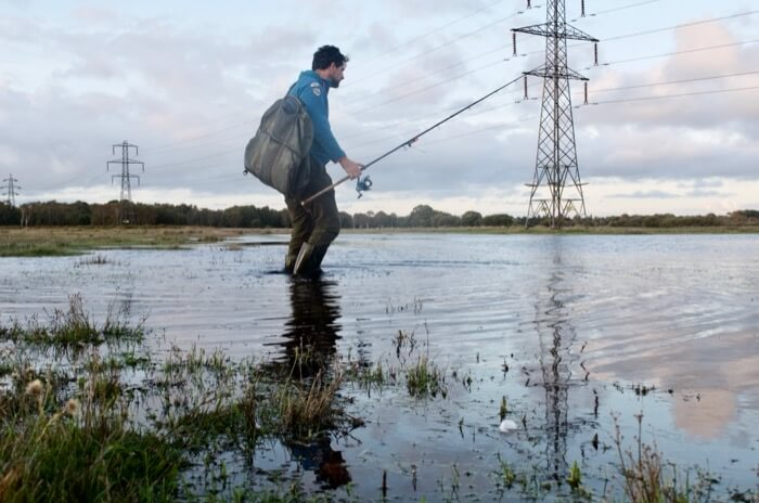 how to fish flooded rivers