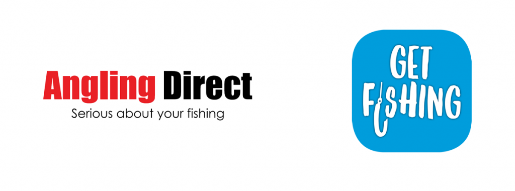 Angling Direct and Get Fishing Partnership Logos