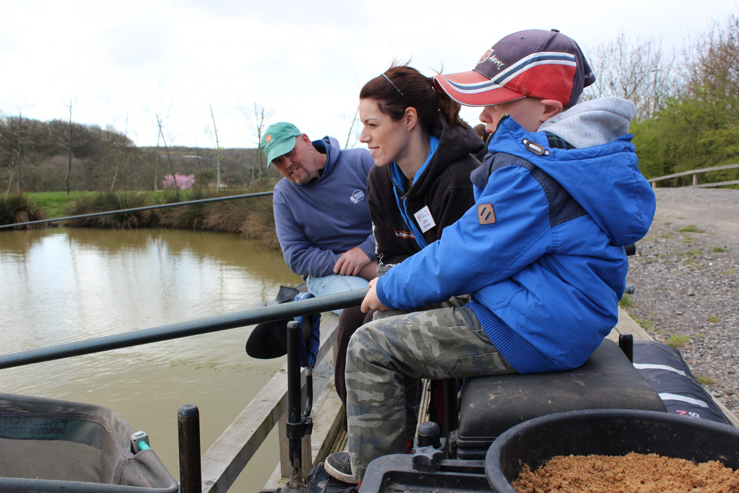 Get Fishing - coach and angler at event-4