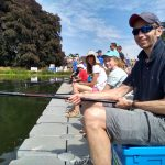 Get Fishing - family fishing together at event-4