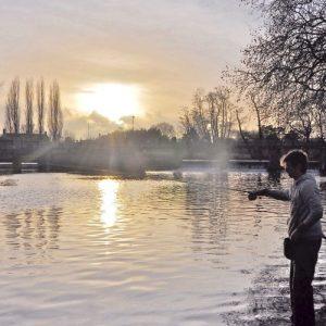 how to catch fish in winter carp coarse