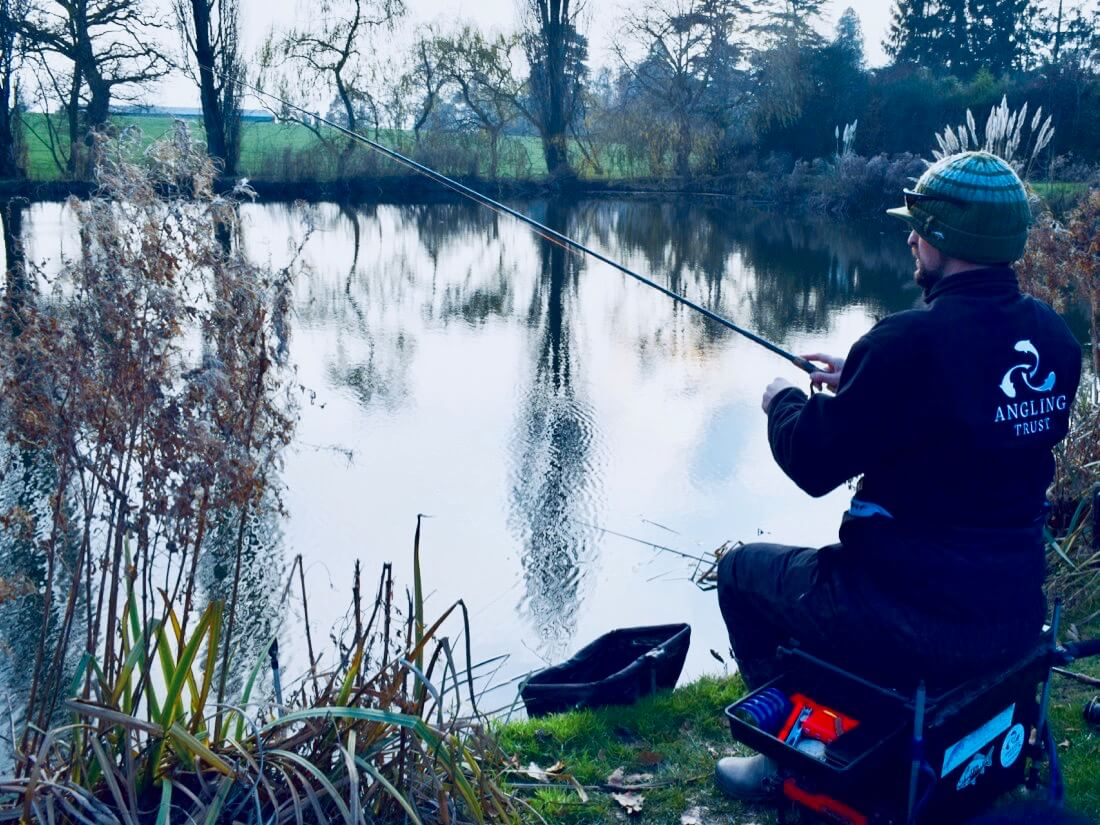 winter fishing tips