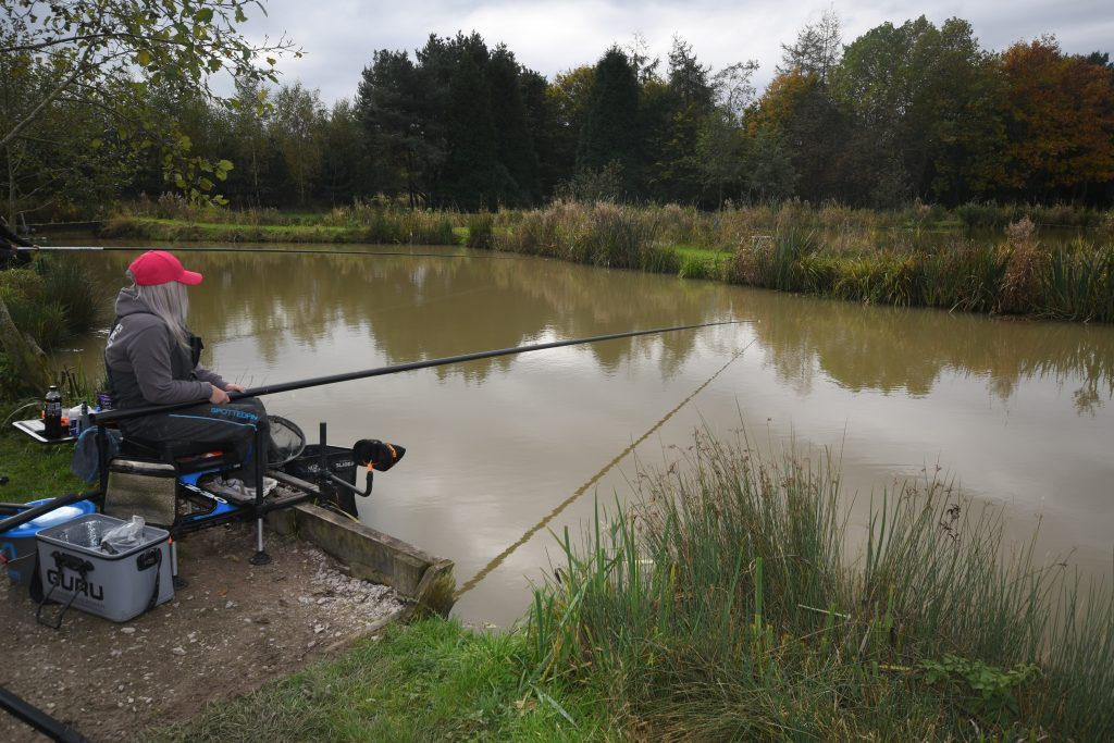 Get Fishing - Emma Harrison Fishing at a commercial fishery-2