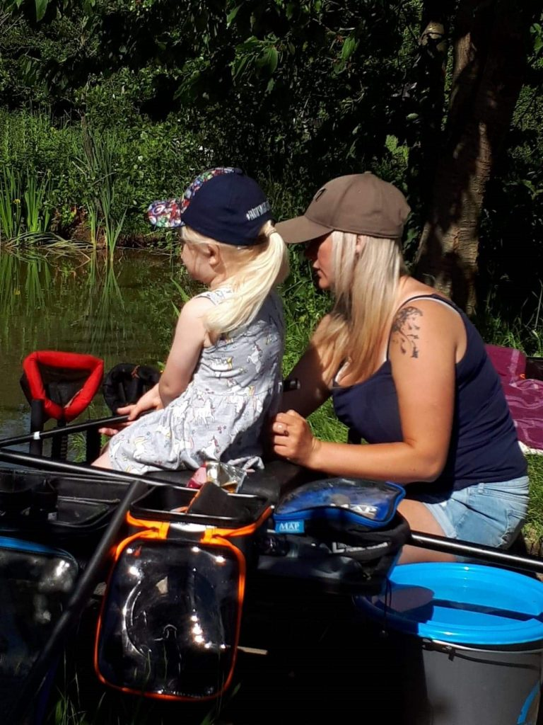 Get Fishing - Emma Harrison Fishing with her daughter