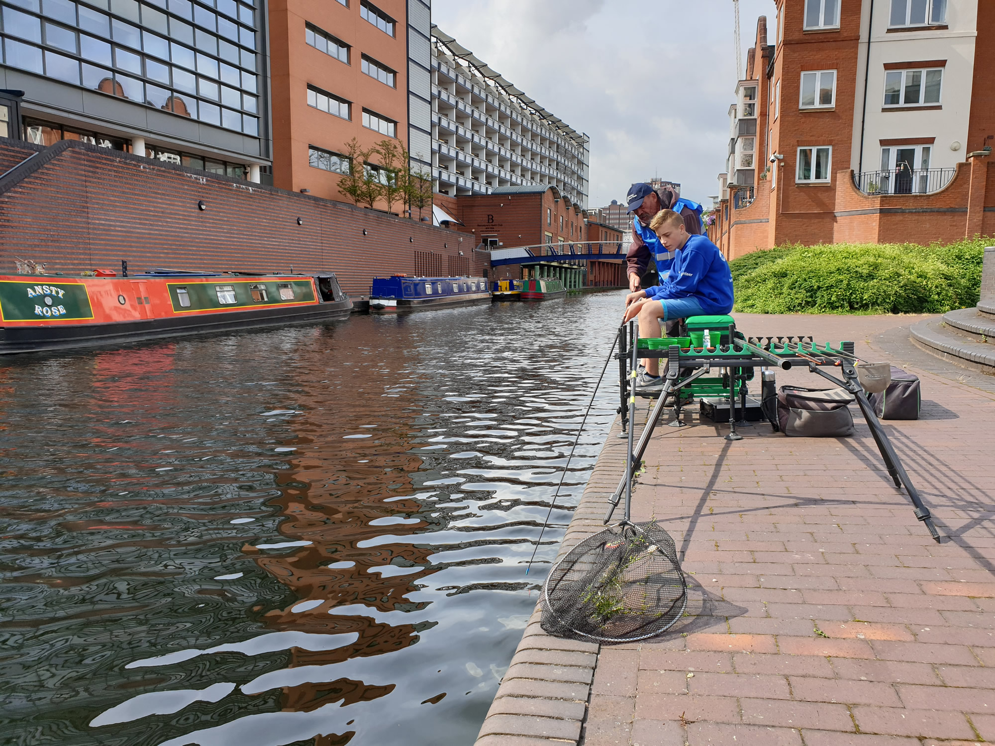 Get Fishing | Canal fishing city centre 2000px
