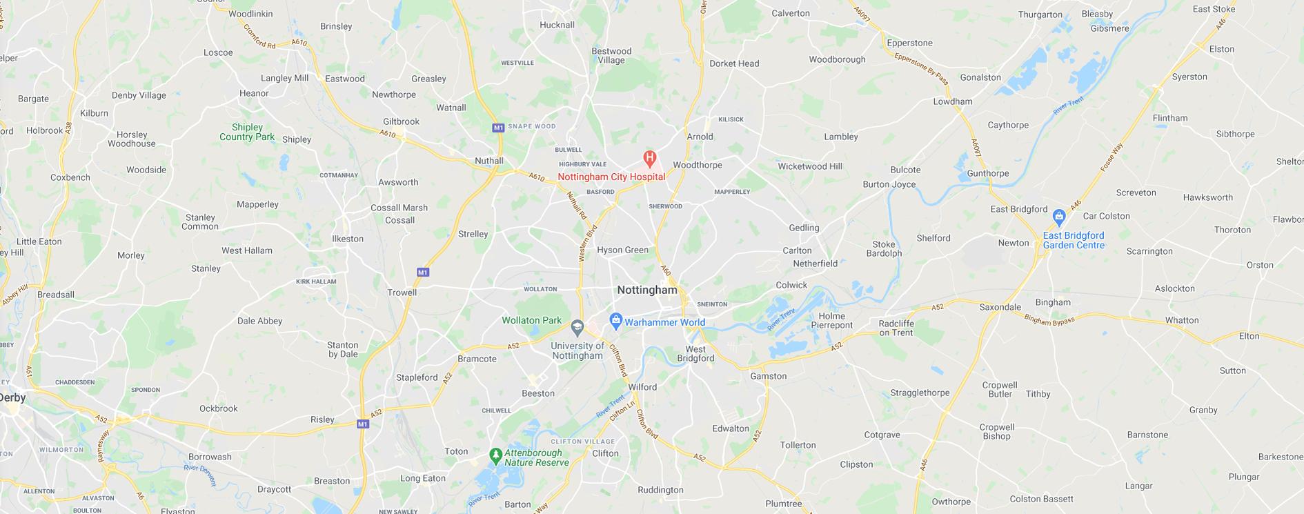 Get Fishing | Map East Midlands England