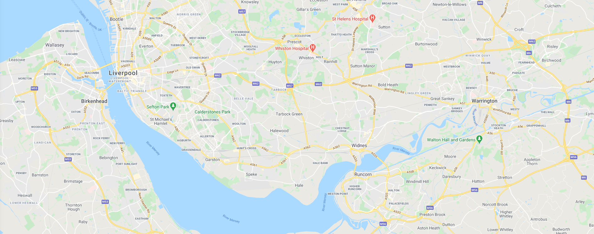 Get Fishing | Map North West England