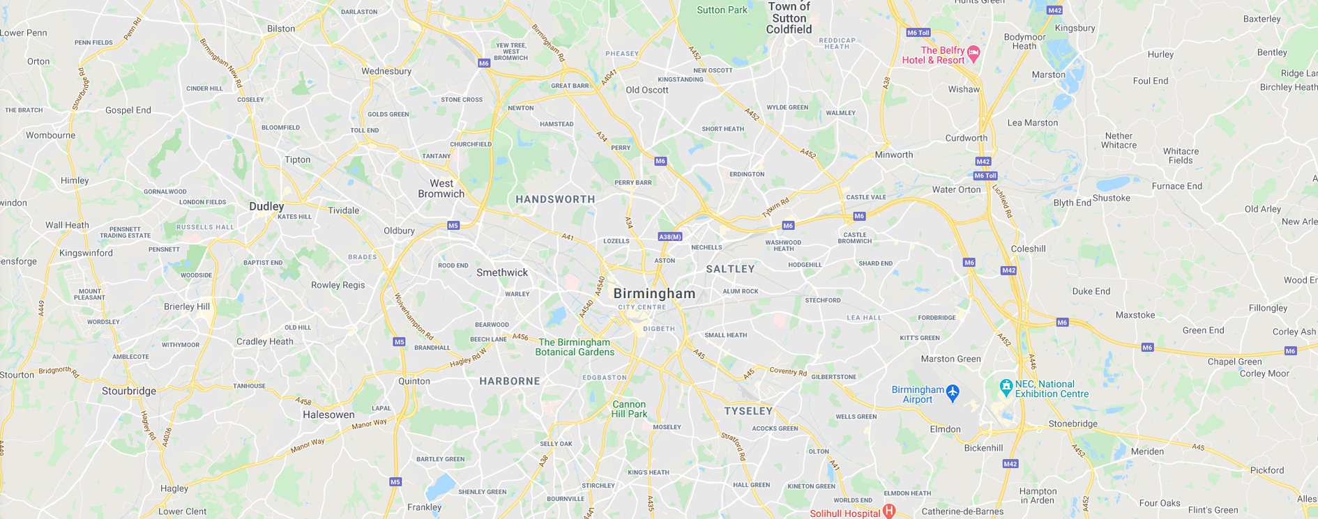 Get Fishing | Map West Midlands England