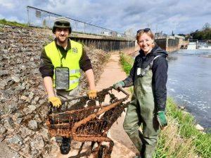Anglers Against Litter Emily Smith Dom Garnett
