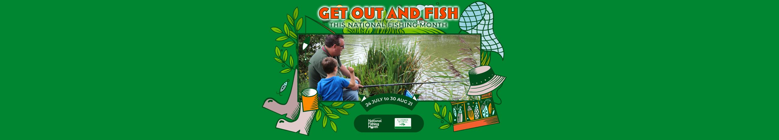 Get Fishing | National Fishing Month Events -Banner Frame-37