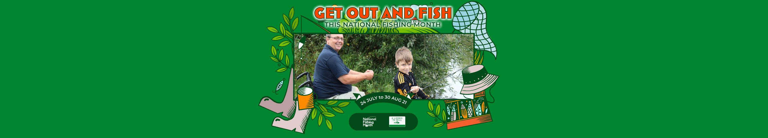 Get Fishing | National Fishing Month Events -Banner Frame-38