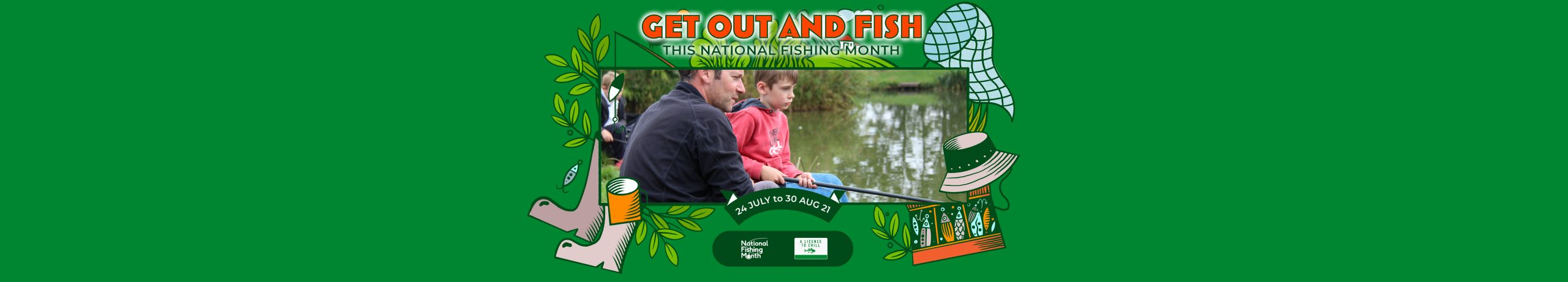 Get Fishing | National Fishing Month Events -Banner Frame-40