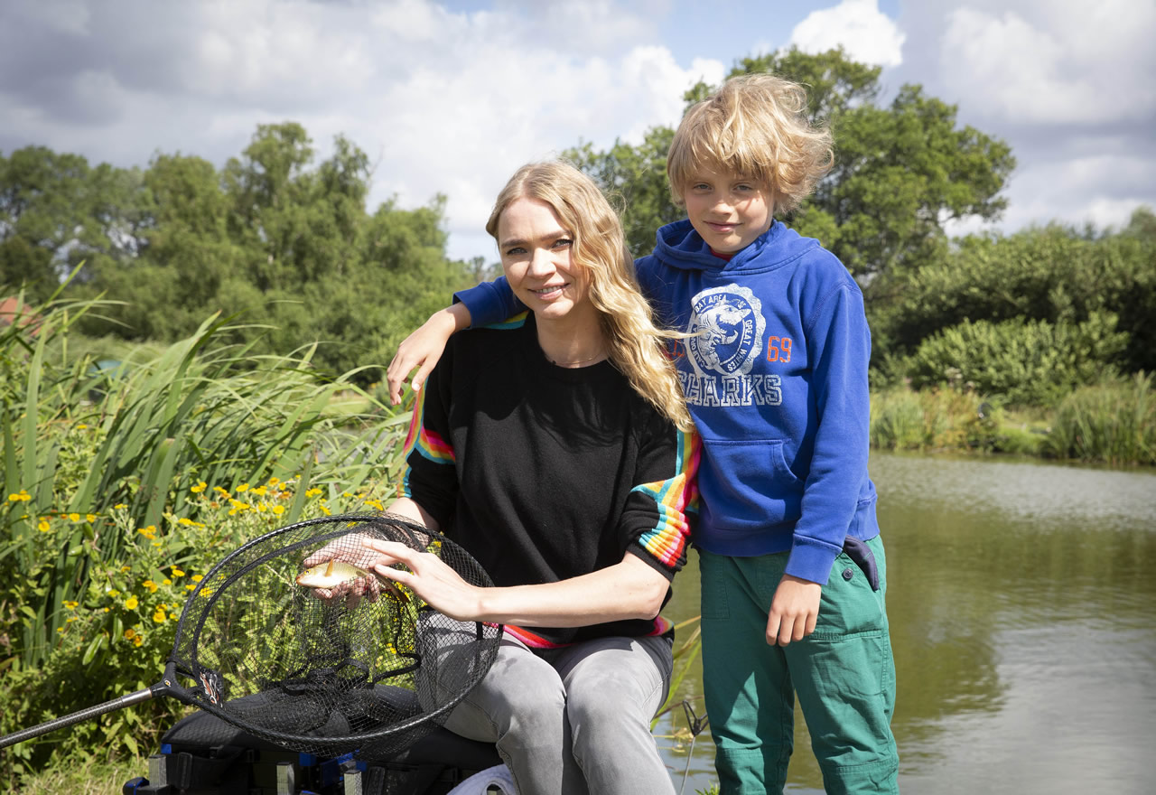 Get Fishing | Jodie Kidd Fishing for National Fishing Month
