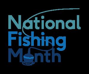 Get Fishing | National Fishing Month Logo 2021