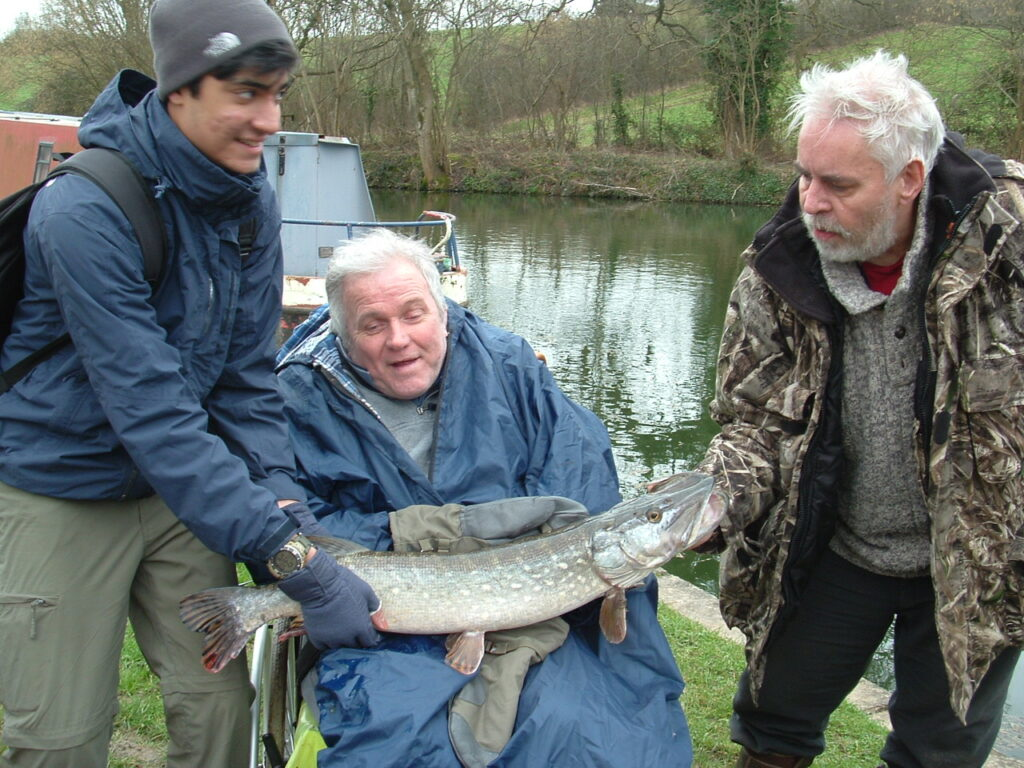 Get Fishing   Greenhill House disability fishing