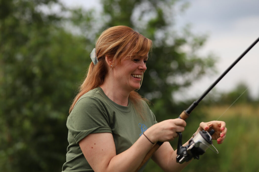 Get Fishing - Credit Tom Gibson - Female Fishing